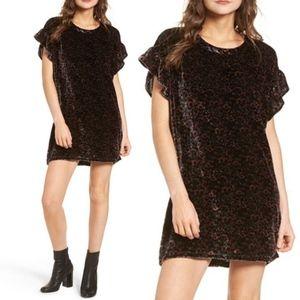 Current Elliot Janie Velvet Dress